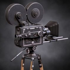 Vintage Film Movie Camera by xellow