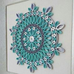 12 Awesome Paper Quilling Jewelry Designs To Start Today – Quilling Techniques Arte Quilling, Paper Quilling Flowers, Paper Quilling Patterns, Paper Quilling Jewelry, Quilling Images, Quilled Paper Art, Quilling Paper Craft, Paper Crafting, Paper Beads