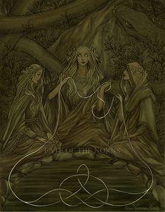 The Norns by UnripeHamadryad.deviantart.com on @DeviantArt