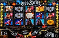 Voulez-vous vous sentir comme une star du rock? Sentez l'amour du public, ainsi que de recevoir un grand prix? Ensuite, la machine à sous Rock Star de Betsoft c'est ce que vous avez besoin!
