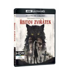 Blu-ray Řbitov zvířátek, UHD + BD, CZ dabing   Elpéčko - Predaj vinylových LP platní, hudobných CD a Blu-ray filmov Blues