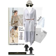 How To Wear Star Wars Awakens Rey' Outfit Idea 2017 - Fashion Trends Ready To Wear For Plus Size, Curvy Women Over 20, 30, 40, 50