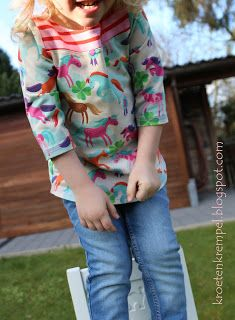 krötenkrempel: Frühlingskombi für Kinder - Shirtversion Nr.2