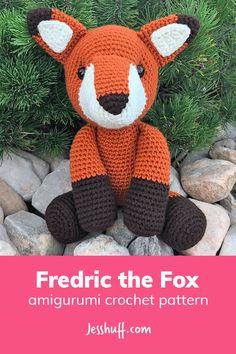 Fredric the Fox Amigurumi Pattern