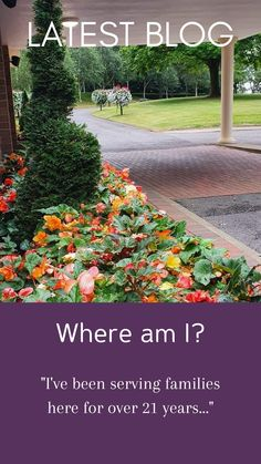 I love Stafford 🌿 Find out why...read more 👇 #funeralservice #funeraldirector #celebrationoflife Book Of Remembrance, Funeral Directors, Funeral Ceremony, Relaxing Places, Flower Beds, Undertaker, Garden Beds, Flowers Garden