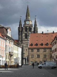 Ansbach, Germany- my mother's hometown and place of so many memories for me with my Oma and Opa