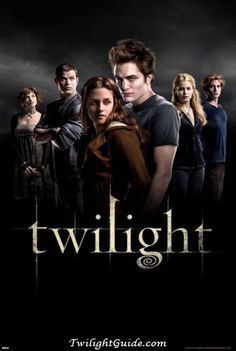 Twilight.  Don't judge me on my movie choices.