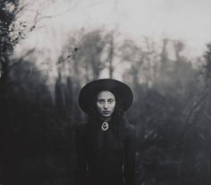 12x10 signed print 'The Copse' Ermadine didn't know she was a witch--until the magical hat appeared to her. . .