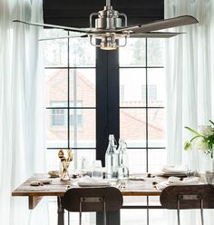 I Like This Ceiling Fan!!! Which One Do You Like Most? FanDecor · Dining  Room ...