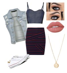 """""""ScHOOL 💋"""" by kayla1021 ❤ liked on Polyvore featuring Rebecca Minkoff, Band of Outsiders, Converse, NLY Accessories and Lime Crime"""