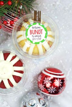 Nothing Bundt Thankful for You Gift Idea Christmas Bundt Cake Gift Idea Source by crazylittleproj Christmas Gifts For Coworkers, Diy Christmas Gifts, Christmas Fun, Xmas, Holiday Crafts, Christmas Countdown, Christmas Ornaments, Employee Appreciation Gifts, Volunteer Appreciation