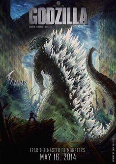 Godzilla 2014 Posters