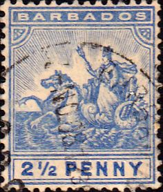 Barbados 1905 Seal of the Colony SG 139 Fine Used Scott 96 Other Barbados Stamps HERE