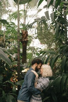 Greenhouse engagement photos at San Francisco's Conservatory of Flowers | Imani Fine Art Photography #conservatorygreenhouse