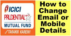 FINANCE guru SPEAKS: UPDATED - How To Online Update or Change Email ID ... Fund Accounting, Email Id, Social Networks, Finance, Finance Books, Economics