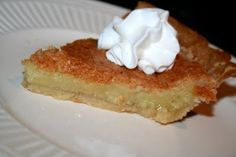 Jeff Davis Pie, a southern favorite!