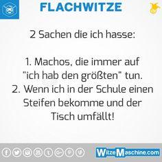 Flachwitze #309 - Macho Witze