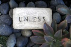 How to: Make an UNLESS Garden Stone