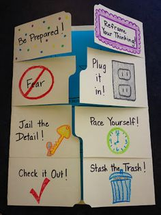 Ms. Sepp's Radiant Roadrunners, Counseling @ Lee Elementary: Testing Tips Foldable