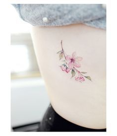 "9,567 Likes, 37 Comments - Tattooist Banul (@tattooist_banul) on Instagram: "": Cherry Blossom . . #tattooistbanul #tattoo #tattooing #flower #flowertattoo #colortattoo…"""