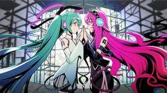 Vocaloid - Hatsune Miku and Megurine Luka