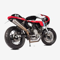 Hey, good lookin': the latest from the Maria Riding Company is this stunning Ducati GT 1000. Soon to be turning heads (and breaking hearts) on the track.