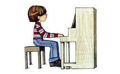 Teach young kids how to sit correctly to play the piano.  Get more free resources www.thepianouniversityonline.com