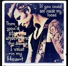 """Green Day - J.A.R """"If you could see inside my head, then you'd start to understand the things I value in my heart"""""""