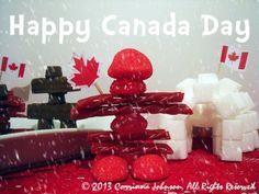 Need an idea for a Canadian themed party appetizer? Make these super cute and delicious edible Inukshuk statues modeled after the magnificent stone monuments built by the Inuit people. Canadian Food, Canadian Recipes, Canada Party, Inuit People, Diva Party, O Canada, Party Themes, Party Ideas, Appetizers For Party