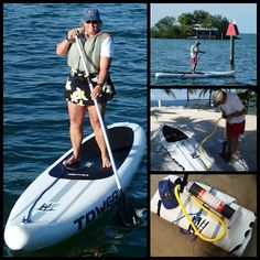 I got lots of questions when I posted on Facebook about my recent inflatable SUP purchase.  Here's all the info.