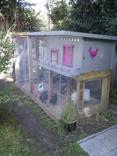 DIY Chicken Coop/Cage/Run Plans from Instructables