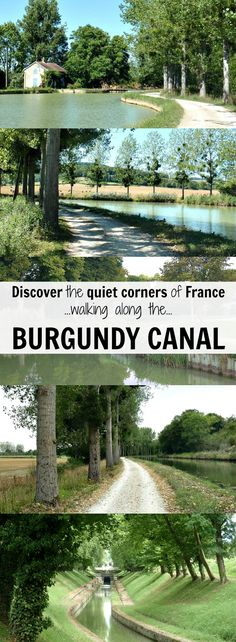 Enjoy the serenity of the Burgundy Canal on a walking holiday in France from Migennes to Pouilly-en-Auxois