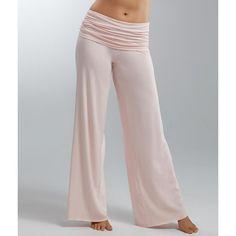 5ffbd0c144 PJ Harlow Jordan Rolldown Knit Lounge Pants ( 78) ❤ liked on Polyvore  featuring long · Pajamas WomenSleepwear ...