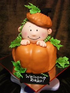 lil pumpkin baby shower cake | Email This BlogThis! Share to Twitter Share to Facebook