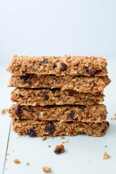 Healthy Carrot Cake Granola Bars. We love these healthy, soft carrot cake granola bars - they're tasty and include a vegetable! High in prot...