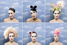 Barbie hats by Piers Atkinson