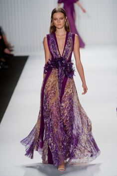 J. Mendel at New York Fashion Week Spring 2013 #fashion #spring 2013