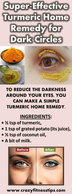 Super-Effective Turmeric Home Remedy for Dark Circles
