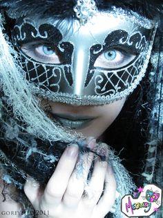 OVERNIGHT Metto Aust Venetian Zane Silver Mens Masquerade Mask ITALIAN Made
