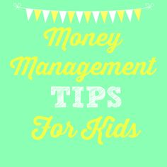 Money Management Can Come to Life for Your Family- Great Money Management Tips for Kids! A must-pin for parents! :)