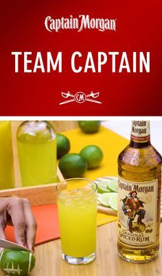 Some people make wings. Others prefer chips and dip. A Captain knows the essential element to any game day isn't what's on the table, but what's in your glass. To make our favorite football recipe, combine 2 dashes of aromatic bitters, 0.5 oz sour mix, 1.5 oz Captain Morgan Original Spiced Rum, and 1.5 oz ginger ale in a glass over ice. Mix it all up and you've got yourself a Team Captain. Now let's see that touchdown dance.