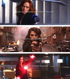 Black Widow | Peggy Carter | Scarlet Witch