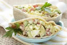 Avocado Egg Salad Recipe...Yum