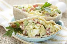 Avocado Egg Salad Recipe...Yum