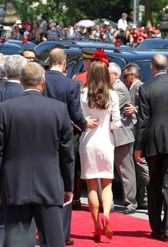 Kate Middleton - Prince William and Kate Middleton at Parliament Hill