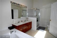 Master Bathroom with Separate Shower.  See more at: SellMyHomeNOVA.com Are you looking to Buy, Sell, or Invest in Real Estate? Contact Us at: Info@AJTeamRealty or 703-562-1820!