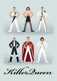 The evolution of Freddie Mercury