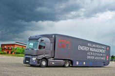 Renault Trucks laboratory vehicle //  Véhicule laboratoire de Renault Trucks