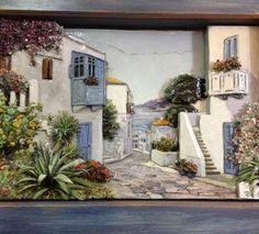 Üç Boyutlu Yunan Evleri