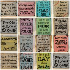 Custom signs available on Etsy! You select the quiye and background colors https://www.etsy.com/listing/192350284/create-your-own-custom-sign-custom-quote